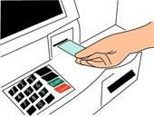 Withdraw Money Clip Art.