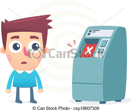 Withdraw money Vector Clipart EPS Images. 635 Withdraw money clip.