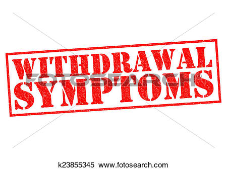 Stock Illustration of WITHDRAWAL SYMPTOMS k23855345.