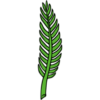 Withered palm tree clipart.
