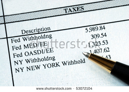 Withholding Tax Stock Photos, Royalty.