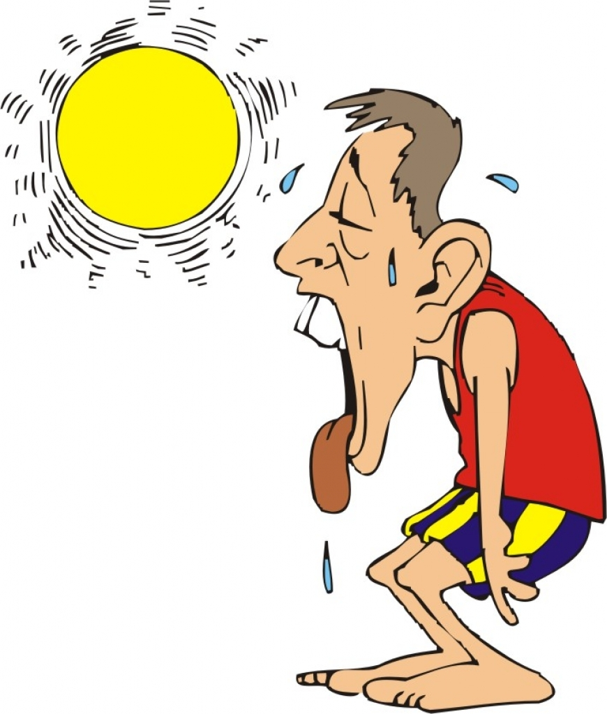 hot summer day cartoon images amp pictures becuo clipartsco within.