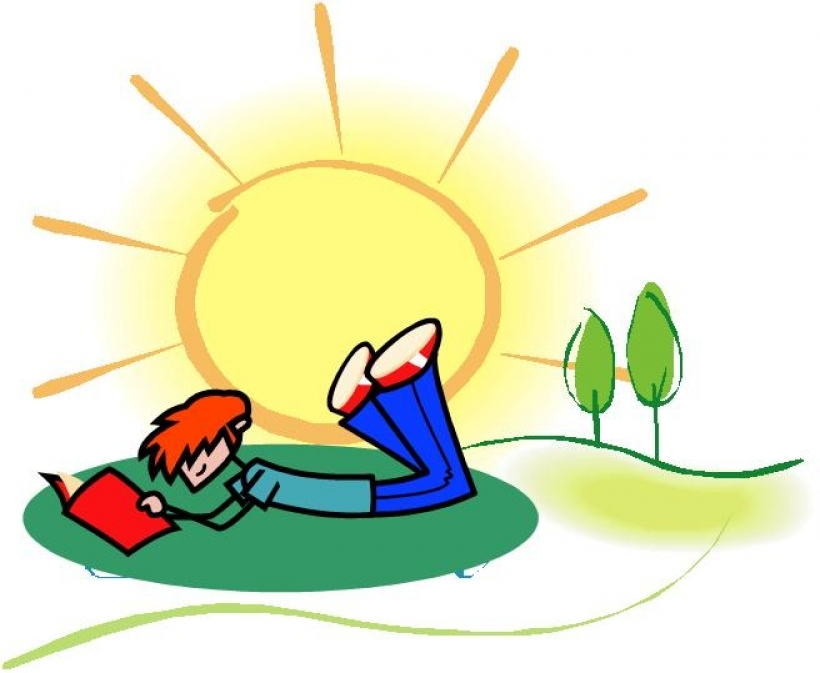 summer reading clipart clipart kid within summer weather clipart.