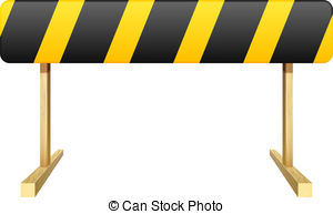 Safety roadblock Clipart and Stock Illustrations. 851 Safety.