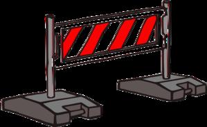 Barrier Clip Art at Clker.com.