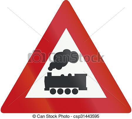 Stock Illustration of Netherlands road sign J11.