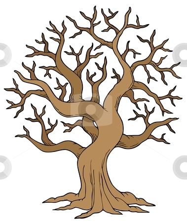 Tree With No Leaves Clipart.
