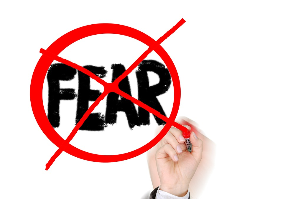 Free illustration: Fear, Fearless, Without Fear.