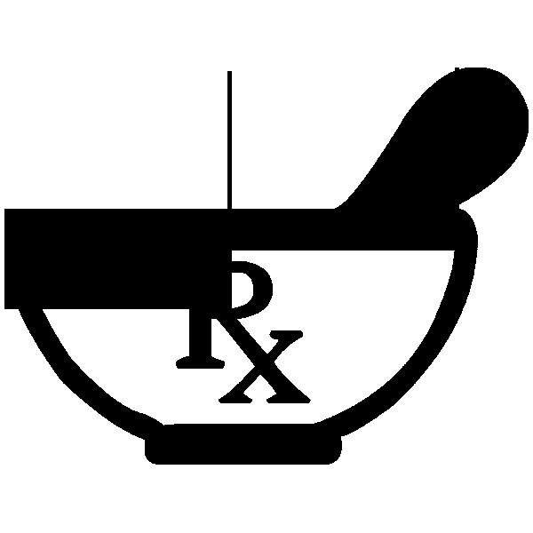 Pharmacy symbol clip art.