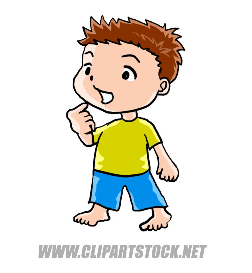 Small Person Clipart.
