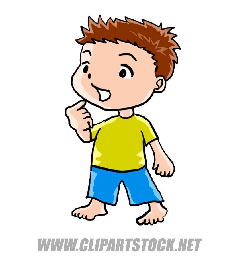 Small Person Clipart.