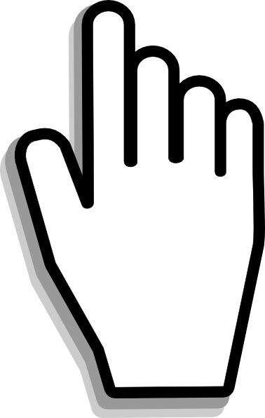 Mouse pointer clipart no background.