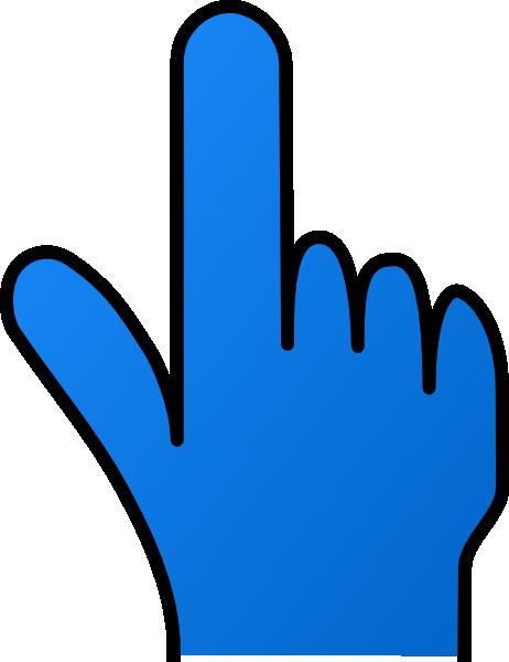 0 Finger Clipart.
