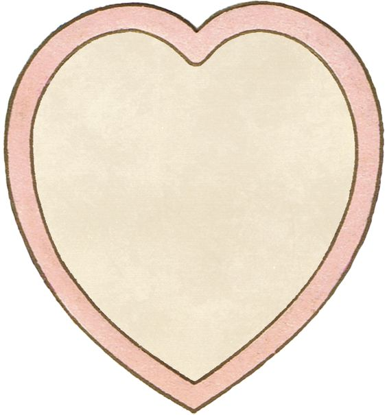 Heart without words ~ free Valentine's Day clip art (PNG file.