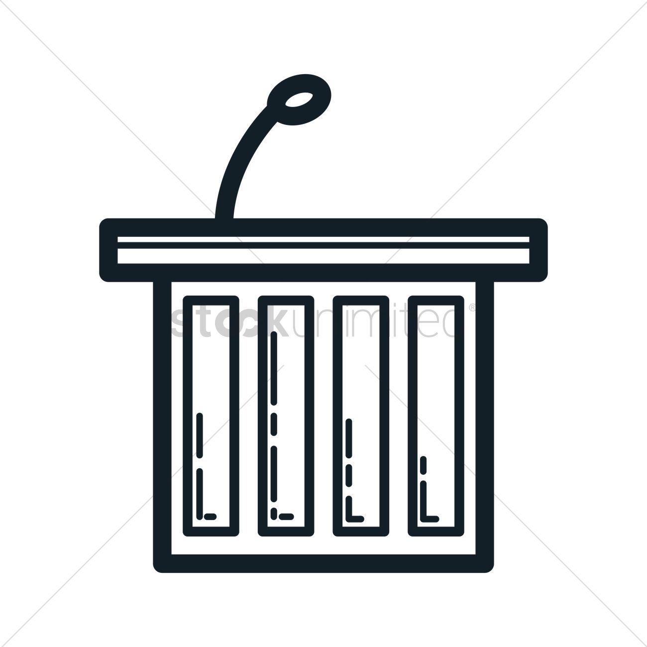 Witness Stand Clipart.