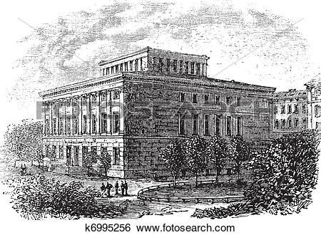 Clip Art of University of Halle.