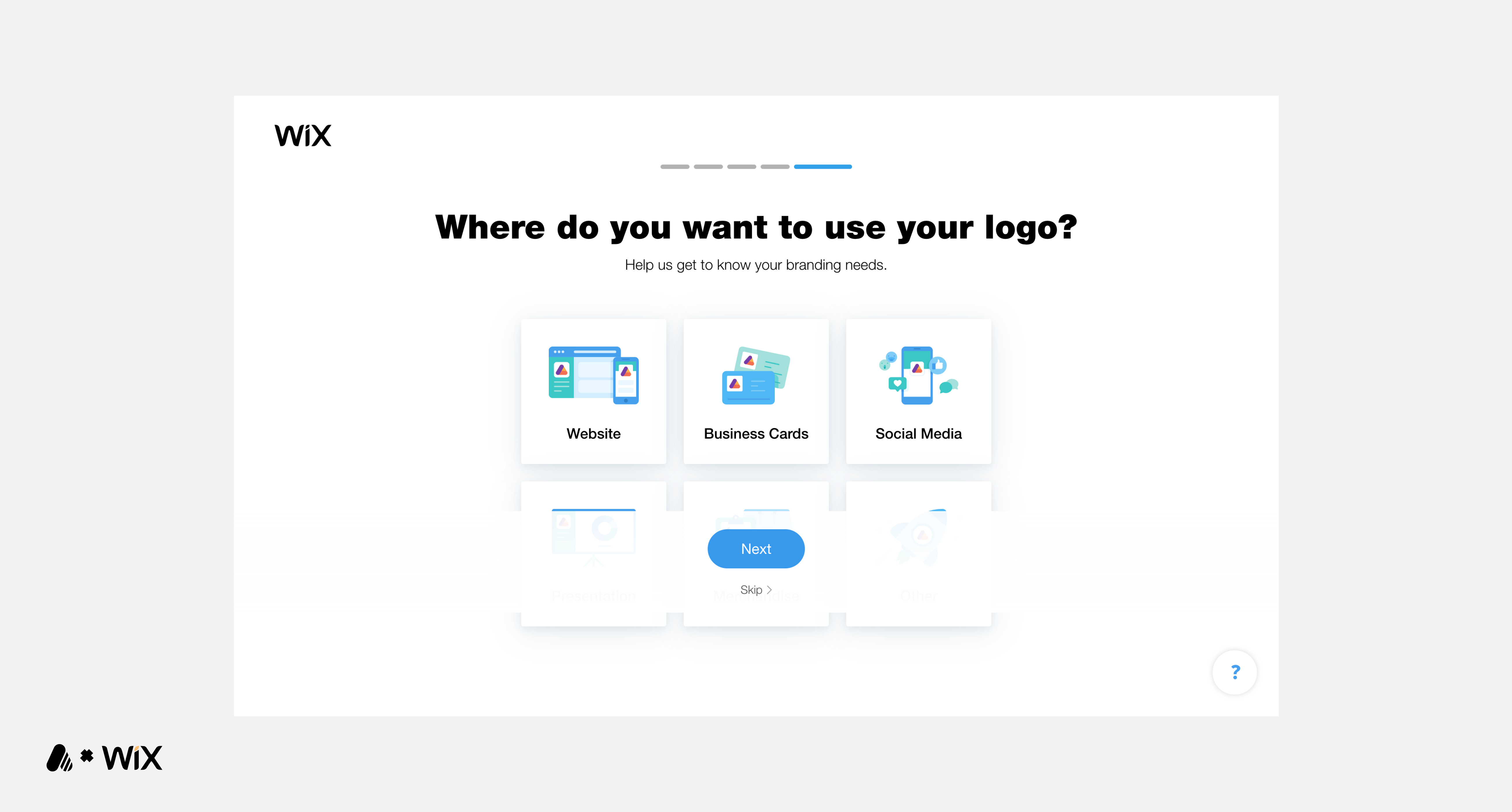 In Review: Wix Logo Maker.