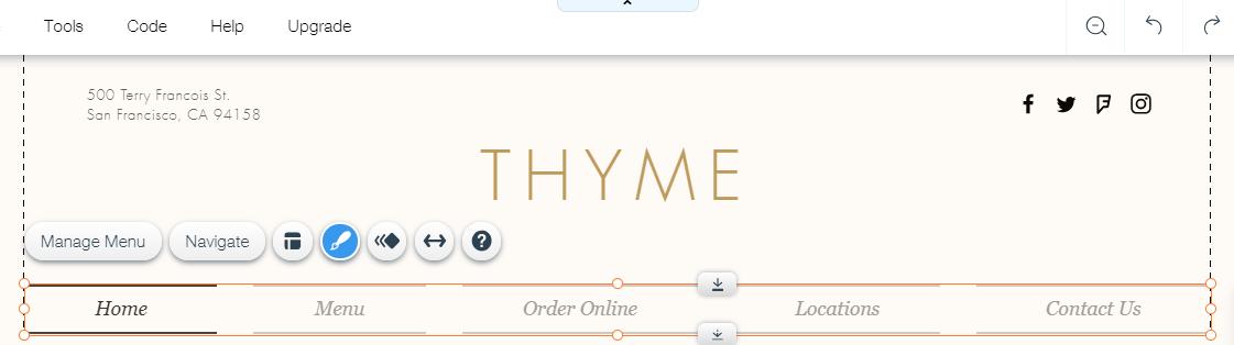 Customizing Your Menu Design.