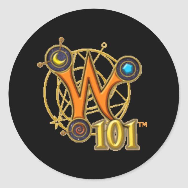 Wizard101 Logo Sticker.