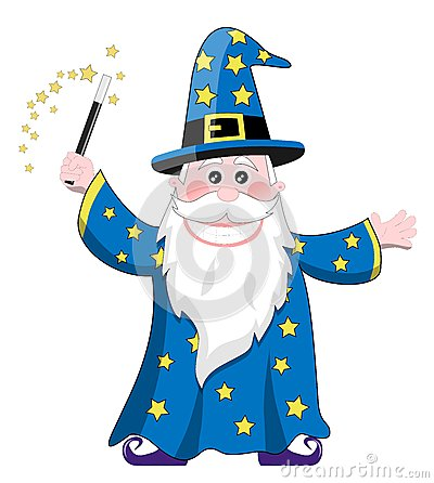 Wizard Clipart Royalty Free Stock Photos.