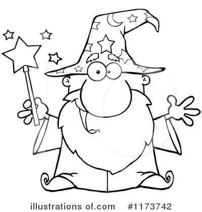 Wizard Clipart #1173742.