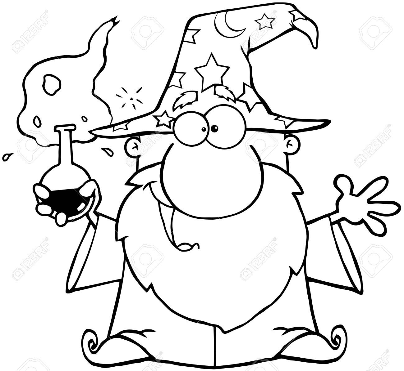 Wizard clipart black and white 8 » Clipart Portal.
