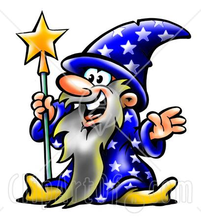 2068 Wizard free clipart.