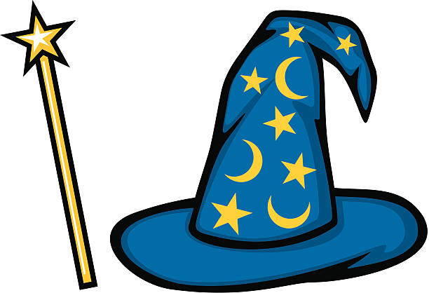 Best Wizard Hat Illustrations, Royalty.