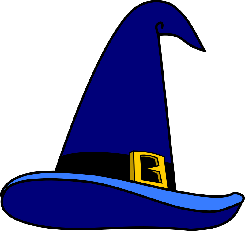 Free Clipart: Wizard's Hat.