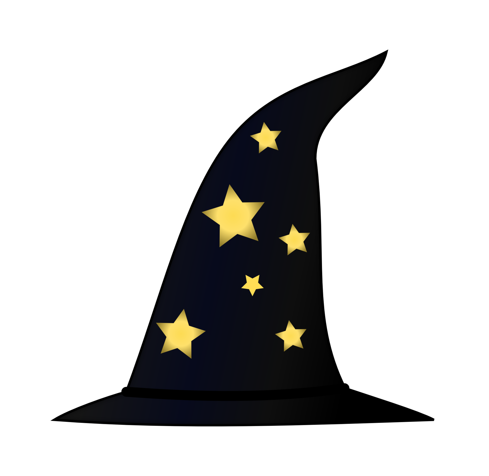 Magician Witch hat Clip art.