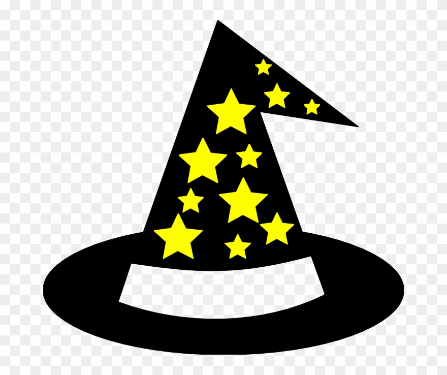 Free Wizard Hat Clipart.