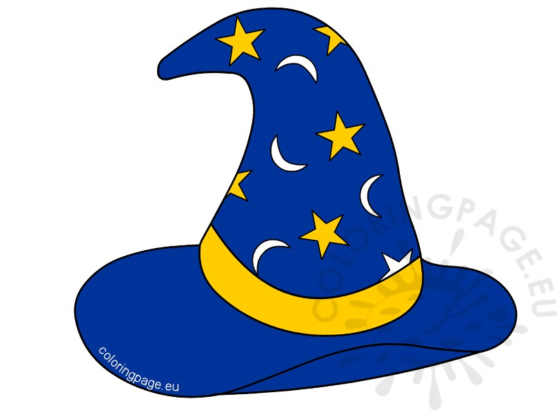 Clipart wizard hat 4 » Clipart Station.