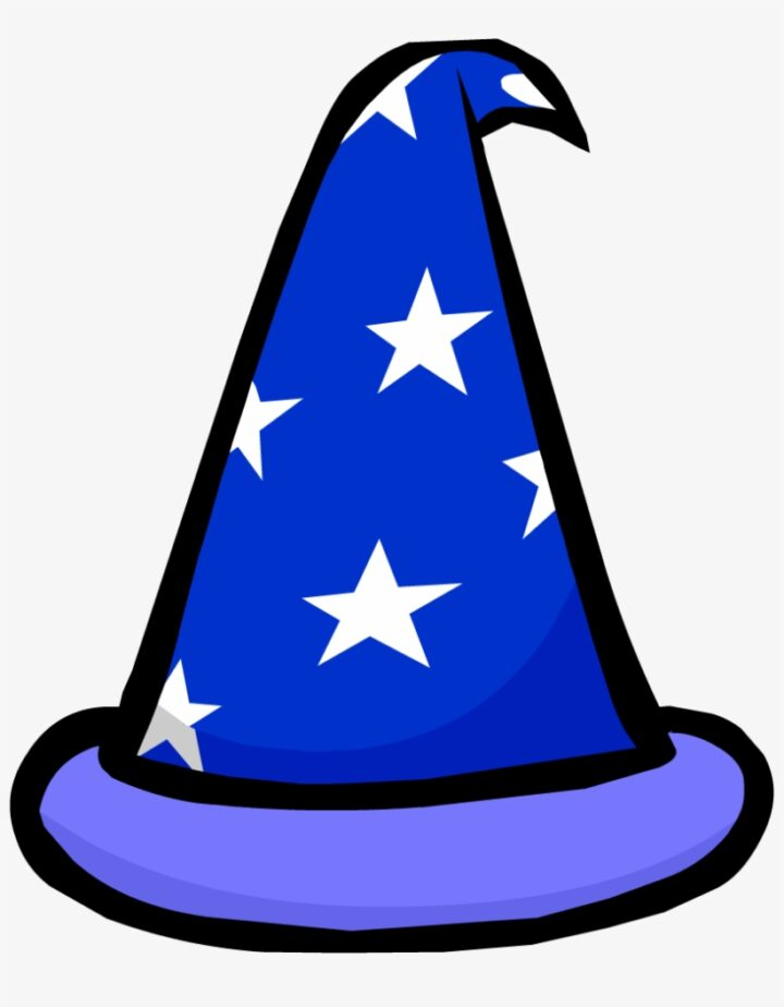Halloween Witch Hat Clipart At Getdrawings Wizard Hat Png.