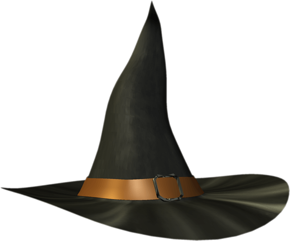Hat Wizard transparent PNG.