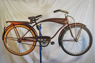 Vintage 1950\'s Shelby Flying Cloud Balloon tire bicycle bike.