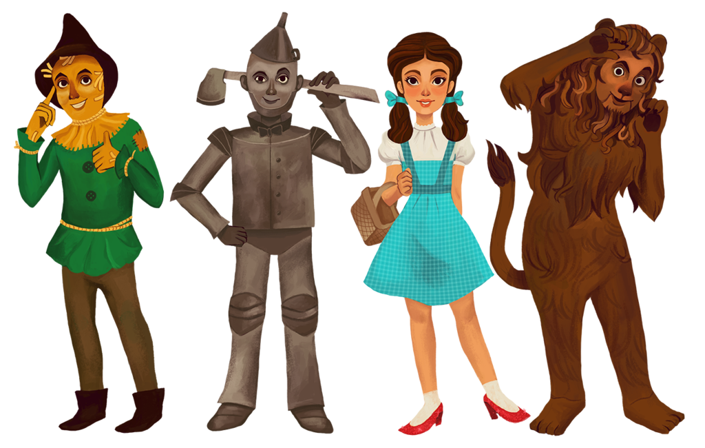 Wizard Of Oz Character Images.