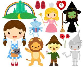Wizard of oz characters clipart 1 » Clipart Portal.