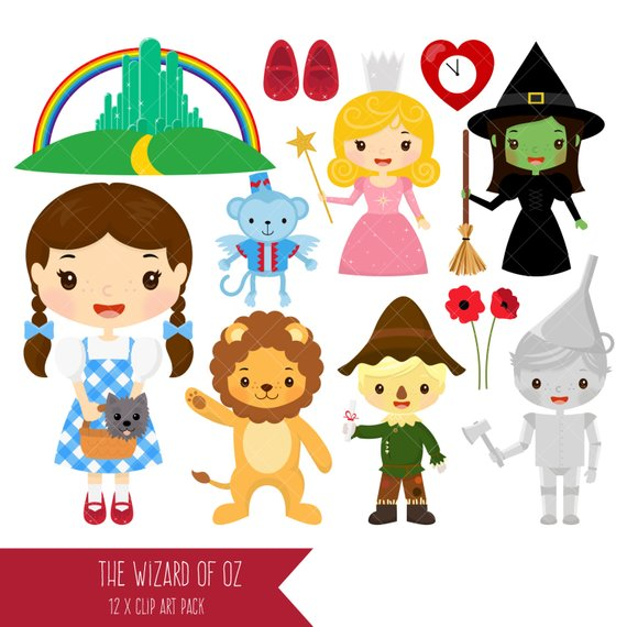 Wizard oz clipart 3 » Clipart Station.