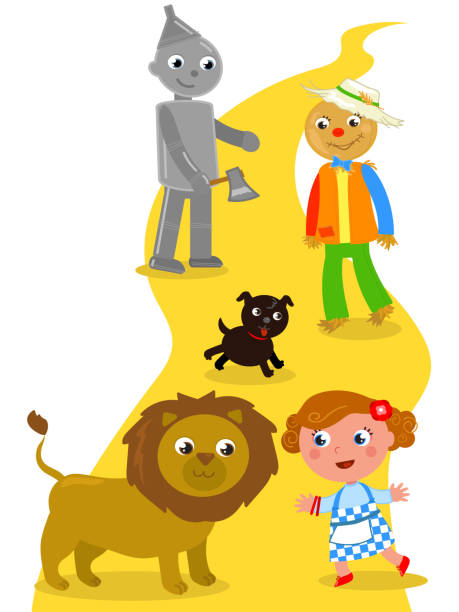 The Wizard Of Oz Illustrations, Royalty.