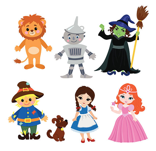 Wizard Of Oz Illustrations, Royalty.
