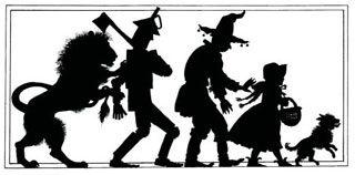 wizard of oz silhouettes.