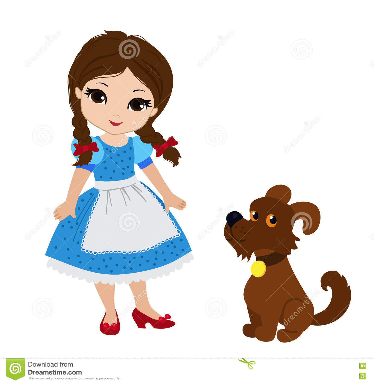 Dorothy wizard of oz clipart 6 » Clipart Station.