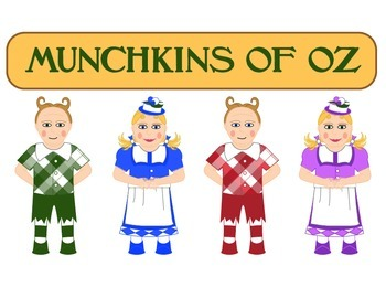 Wizard Of Oz Munchkin Clipart.