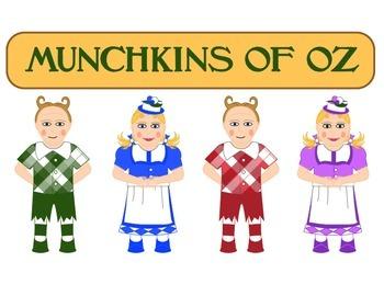Wizard of Oz Munchkin Clip Art.