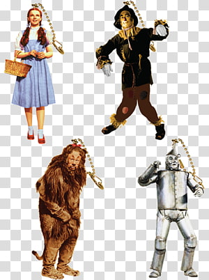 Scarecrow Dorothy Gale The Wizard Tin Woodman Cowardly Lion.