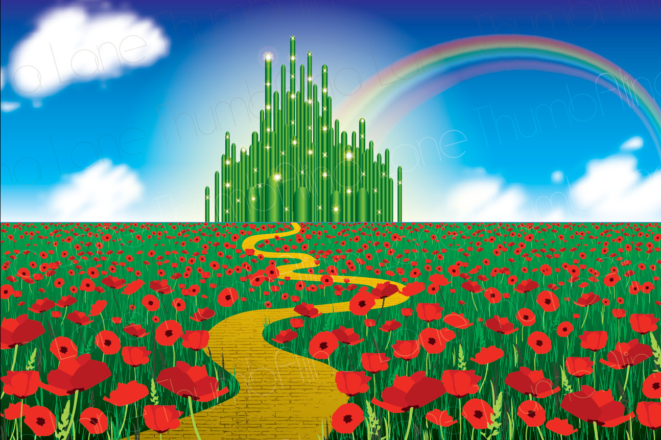 Wizard of oz rainbow clipart.