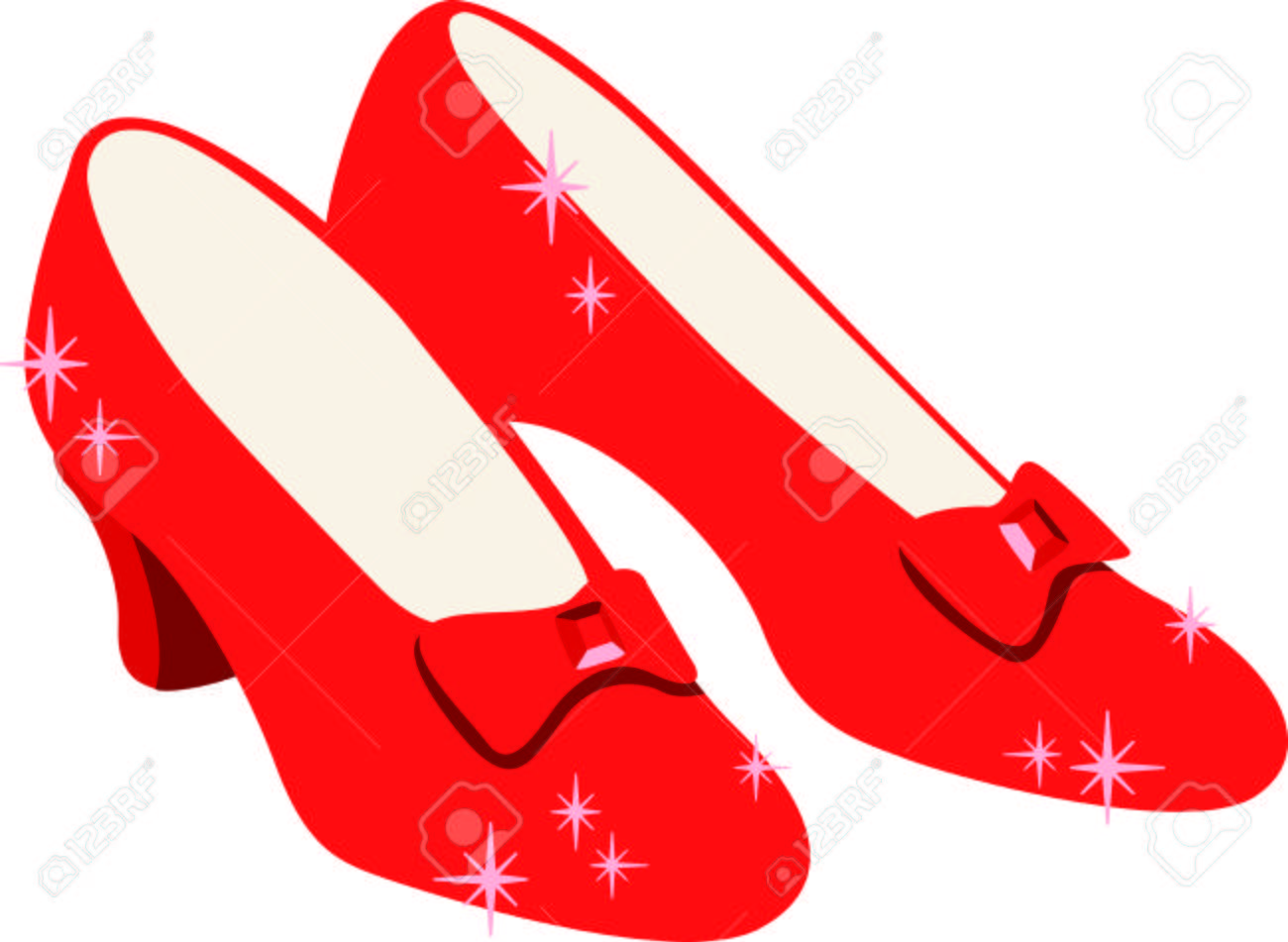 Get these ruby slippers image for your next design..