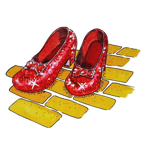 Wizard of oz ruby slippers clipart 5 » Clipart Portal.