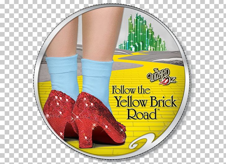 Dorothy Gale Ruby Slippers Yellow Brick Road The Wizard Of Oz PNG.