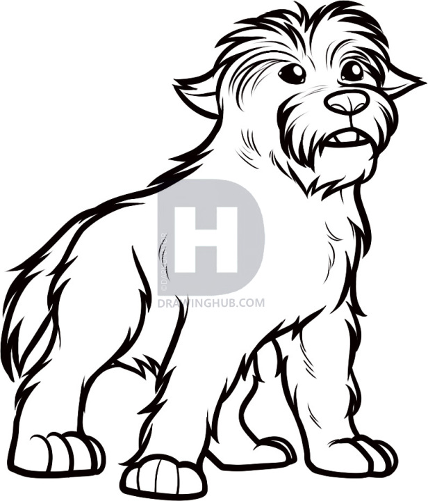 Collection of Toto clipart.